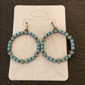 Banana republic turquoise earring
